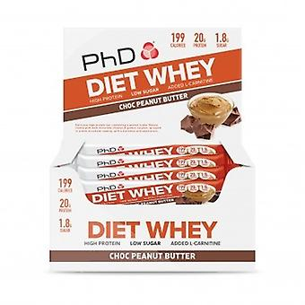 PhD Diet Whey 12 Bars (Sport , Muscle mass , Proteins)