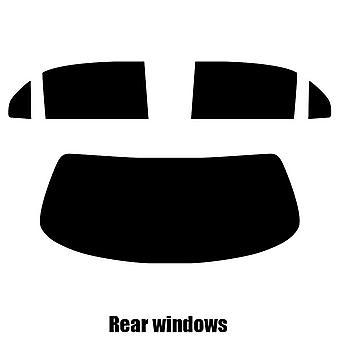 Pre cut fönstret nyans - Jaguar XJL 4-dörrars sedan - 2003 till 2010 - bakre windows