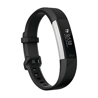 Fitbit Alta HR Fitness Wrist Band Black Large Activity Tracker Heart Rate Monitor