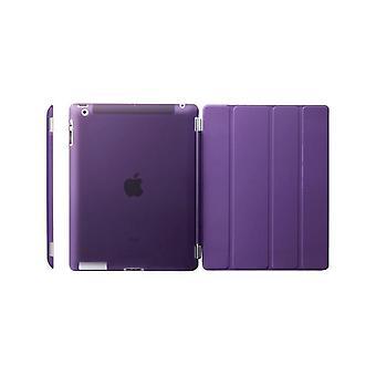 Fodral/Cover iPad (2017) / iPad Air + Skal i hårdplast Lila