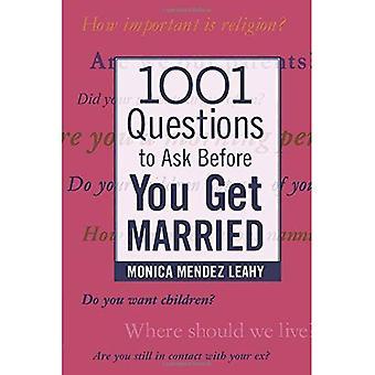 1001 vragen te stellen voordat je gaat trouwen