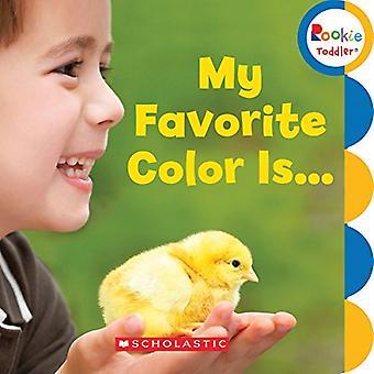 Meine Lieblingsfarbe ist (Rookie Kleinkinder)