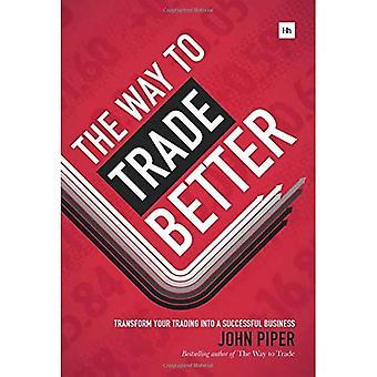 Måde at handle bedre: Omdan din handel til en succesfuld forretning
