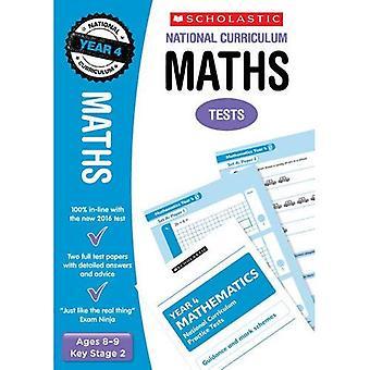 Maths Test - Year 4 (National Curriculum Tests)