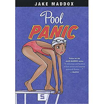 Pool Panic (Jake Maddox Girl Sports Stories)