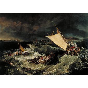The Shipwreck,J.M.W. Turner,60x40cm