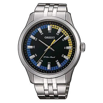 Orient men's Quartz analogue watch with stainless steel band SQC0U005F0