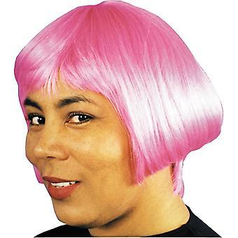 Eve peruk Hot Pink för kvinnor