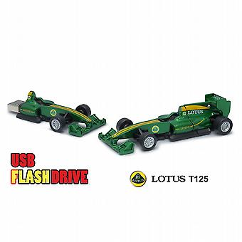 Offizielle Lotus T125 F1 Racing Car USB Memory Stick 16Gb - Green