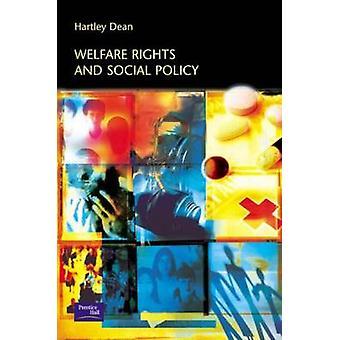 Velfærd rettigheder og sociale politik ved Hartley Dean