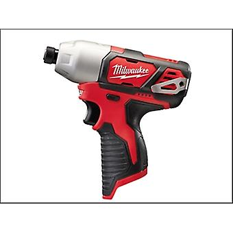 Milwaukee M12 Bid-0 Sub Compact 1/4in Impact Driver 12 Volt Bare Unit