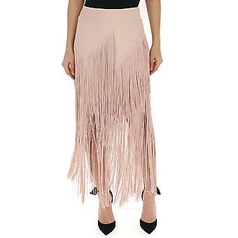Stella Mccartney Nude Viscose Skirt