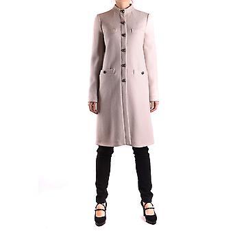 Armani Jeans White Wool Coat