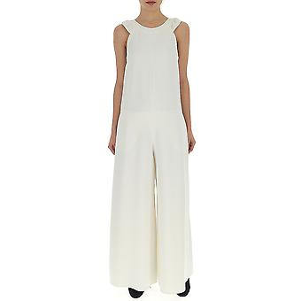 Red Valentino White Synthetic Fibers Jumpsuit