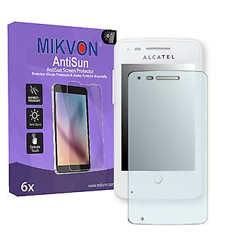 Alcatel One Touch Fire 4012X Screen Protector - Mikvon AntiSun (Retail Package with accessories)