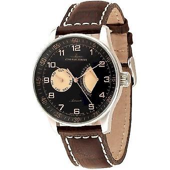 Zeno-watch mens watch X-large retro retrograde P592-g1