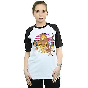 Disney Women's The Lion King Pride Family Baseball T-Shirt