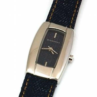 GIORDANO 2046-3Ladies Denim Strap Stainless Steel Watch