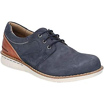 Hush Puppies Mens Chase Casual Lace Up Leather Shoes