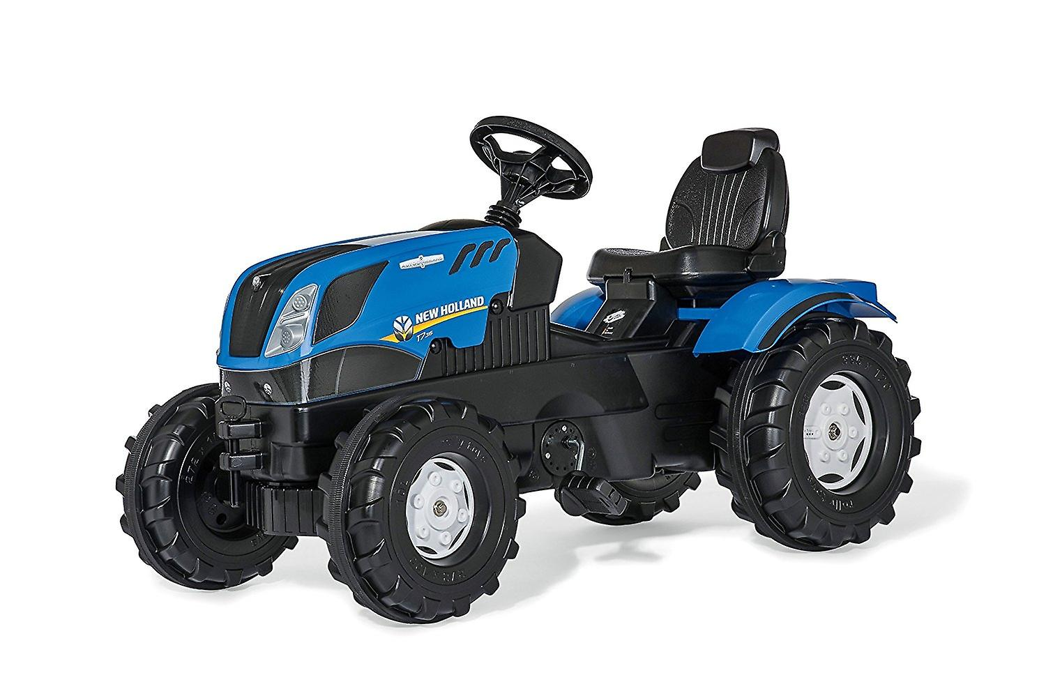 Rolly Toys New Holland T7 Pedal Tractor Blue and Black