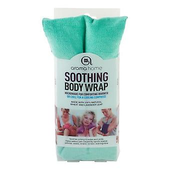 Aroma Home Fine cordon apaisant lavande blé sac : Turquoise