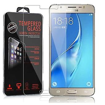 Cadorabo Tank Film for Samsung Galaxy J5 - Tempered Display Protective Glass in 9H Hardness with 3D Touch Compatibility