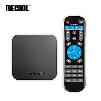 Mecool km9 tv box - android 8.1, amlogic s905x2 quad core, 4gb ram 32gb rom, dual band wifi - uk plug