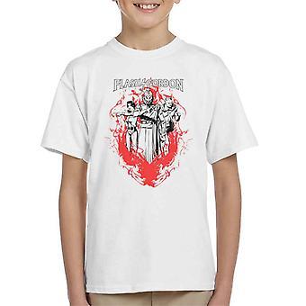 Flash Gordon Flamme Trio Kid's T-Shirt