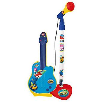 Reig Micro And Guitar Super Wings (Babies and Children , Toys , Educative And Creative)