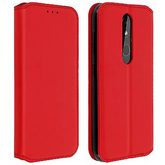 Slim Case, Classic Edition stand case with card slot for Nokia 3.2 - Red