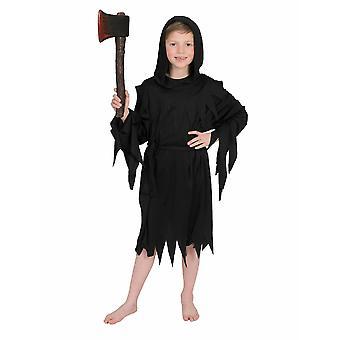 Death Halloween Boy Costume Executioner Sensenmann Boys Costume