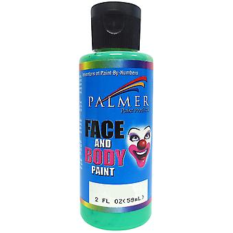 Face & Body Paint 2oz-Green 5600036-3