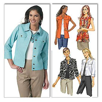 Misses' Jacket  E5 14  16  18  20  22 Pattern B5616  E50