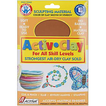 Activ Clay Air Dry 1 Pound Terra Cotta 161A