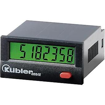 Kübler CODIX 132 Pulse counters Codix 132 Assembly dimensions 45 x 22 mm