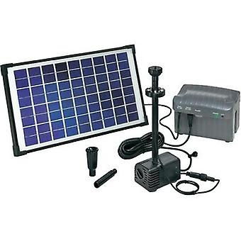 Solar pump set incl. lighting, incl. battery 750 l/h Esotec Napoli LED 101774