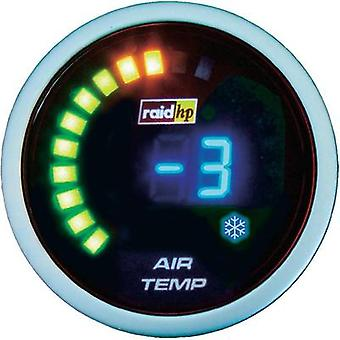 raid hp Outdoor Temperature Gauge -20 to +125 °C 12V