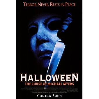 Halloween 6 the Curse of Michael Myers Movie Poster (11 x 17)