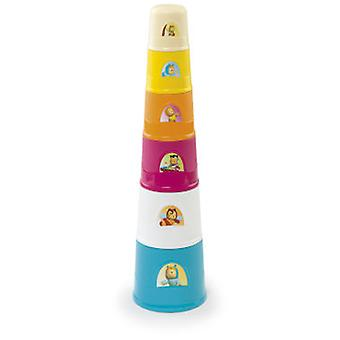 Smoby Super Magic Tower Cotoons (Babies , Toys , Skill Development , Pileable)