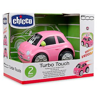 Chicco Turbo Touch Fiat 500 Pink (Jouets , Maternelle , Véhicules)