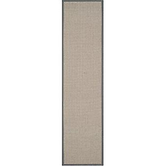 Grey Herringbone Jute Runner Rugs Prague