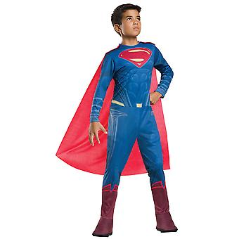 Superman Batman Vs Superman DC Comic Superhero Dawn of Justice Boys Costume