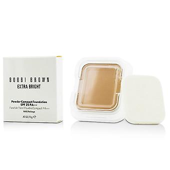Bobbi Brown base compacta en polvo Extra brillante SPF 25 recarga - 13g0.45oz Natural #4
