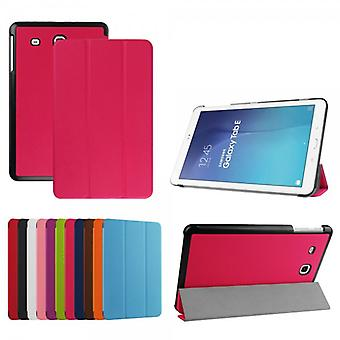 Premium Smart cover Pink for Samsung Galaxy tab E 9.6 T560