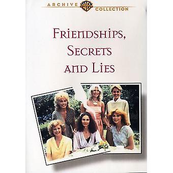 Friendships Secrets & Lies [DVD] USA import