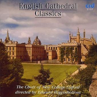 Koret af New College Oxford - engelsk katedralen Classics [CD] USA import