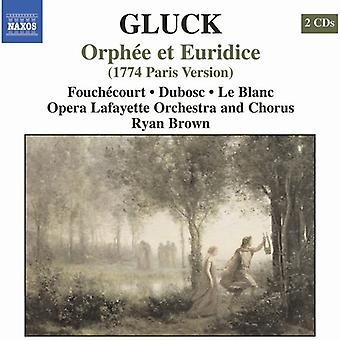 C.W. Von Gluck - Gluck: Orph E Et Euridice (1774 Paris Version) [CD] USA import