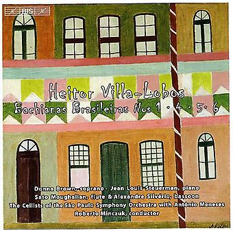 H. Villa-Lobos-Villa-Lobos: Bachianas Brasileiras nr 1, 4, 5 & 6 [CD] USA import