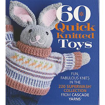 Sixth & Springs Books-60 Quick Knitted Toys SSB-21445