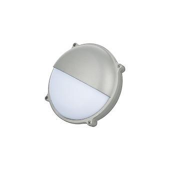 TimeGuard runde grafit grå øjenlåg 25W LED udendørs skot